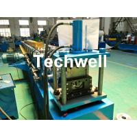 China Round Gutter Roll Forming Machine With PPGI Aluminum Forming Material , 0-15m/min wholesale