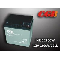 Quality 12V 28ah High Rate Rechargeable Vrla Battery , Agm Separator Sealed Deep Cycle for sale