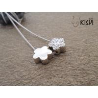 China Fashion Jewelry 925 Sterling Silver Necklace with Zircon W-VD169 wholesale