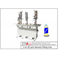 China Semi Automatic Bottle Filling Line / Liquid Filling And Sealing Machine wholesale