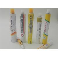 Buy cheap Empty Aluminum Soft Cream Tubes For Betonate Gel , With GMP Workshop from wholesalers