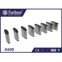 China 304 Stainless Steel Turnstile Security Products 35-40 Persons / Min Transit Speed wholesale