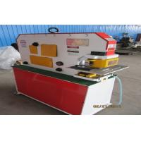 China Ironworker punches , Hydraulic ironworker machine for I beam shear , angle shear wholesale