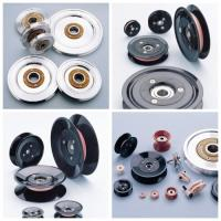 China Customized Various Models Plastic Cable Pulley With Bearing , Low Friction Coefficient wholesale