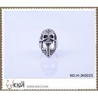 Quality Hot Selling 316l Stainless Steel Death's - Head Ring #10 / #8 H-JK0033 for sale