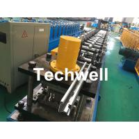 China Galvanized Steel Guiding Column Shutter Door Roll Forming Machine Thickness 1.5-3.0mm wholesale