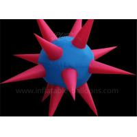 Quality Colorful Oxford Cloth Inflatable Star Huge Inflatable Balloon with Blower for sale
