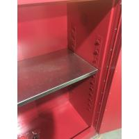 Quality Durable Paint Storage Cabinets With Double Decked Fire Resistant Steel Plate for sale