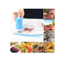 China BPA Free Food Mini Vacuum Sealer Sous Vide Bags Automated With Flat Suction Nozzle wholesale