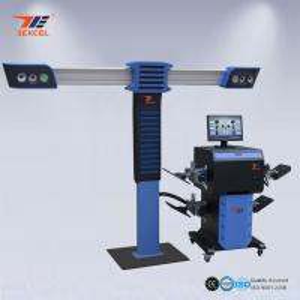 China Precision Camera Car 3D Wheel Aligner , 4 Wheel Thrust Alignment And Balancing Machine wholesale