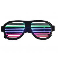China LED musical shades Sound & Music Active LED Party GLOW Glasses with USB Charger Cable wholesale