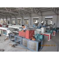 China Fiber Reinforced Soft PVC Pipe Extrusion Machine 80-450kgs / h wholesale