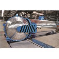 China Rubber Vulcanizing Chemical Autoclave with safety interlock wholesale