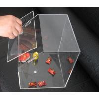 China Transparent 3mm Acrylic Display Case , Candy Plexiglass Cases Custom wholesale