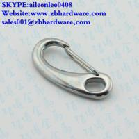 China manufacturing stainless steel 304/316 egg shape snap hook / mini snap hook wholesale