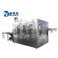 China Monoblock 3 In 1 Drinking Water Bottle Filling Machine Stainless Steel 304 Or 316 on sale