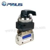 Buy cheap 3 Way 2 Position Pneumatic Valve MSV86321PB , Round Green Button Mechanical Air Valve from wholesalers