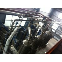 China Evapotrative Water Cooled Plate Heat Exchanger Muiltiple Effect Juice Milk Concentration wholesale