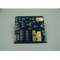 China Blue Thick Gold Multilayer PCB Board UL 94 V 0 Flamibility Grade Tg 170 wholesale