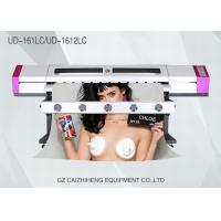 China Wide Format Eco Solvent Vinyl Printing Machine Flatbed Galaxy UD161LC wholesale