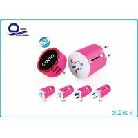 China All In One Adapter 5V 2A USB Power Adapter With LED Light Logo Quick Charge wholesale