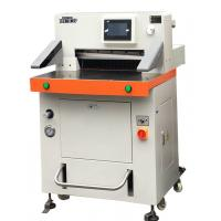 China DB-520V8 Programmed Hydraulic Paper Cutting Machine 520mm With Touch Screen wholesale