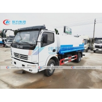 China Dongfeng 4X2 5T Q235 Carbon Steel Water Tanker Truck wholesale