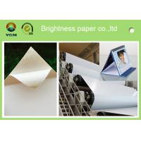 White Coated Glossy Printing Paper Sheets For Gift Box 250gsm - 400gsm