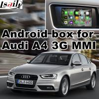 Buy cheap Android car navigation box interface for Audi A4 A5 , Navigation Video Interface product