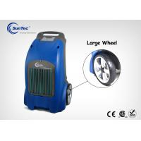 China Top Rated Commercial Portable Dehumidifier With 12 Inches Wheels 65 Liters / D wholesale