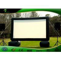 China Indoor / Outdoor Inflatable Movie Screen , Inflatable Screen Projector For Cinema on sale