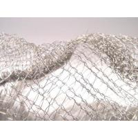 China Noise Reduction Knitted Stainless Steel Filter Mesh Crochet Weaving For Gas / Liquid wholesale