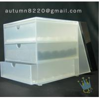 China BO (31) 3 tier acrylic display case wholesale