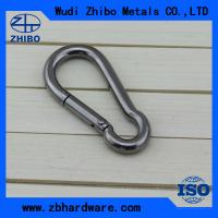 China with no screw,stainless steel AISI304 or 316 DIN5299 stainless steel snap hook ,Caribine hook for sale Chinas wholesale