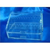 China Recyclable Acrylic Display Holders With Drawer For Showing Earrings wholesale
