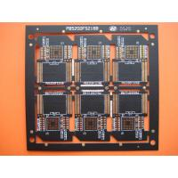China Four Layer Black Solder FR4 Multilayer PCB Manufacturer for SD Card , OEM and Customized wholesale