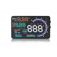 China 5.5 Inch Screen Obdii / OBD2 Elm327 Diagnostic Interface Bluetooth Hud Head Up Display wholesale