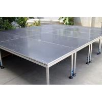 China 1.22X2.44m Portable Simple Adjustable Stage Non-Slip Finished on sale