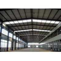 China Modern Appearance Steel Frame Greenhouse , Green House Building Easy Assembly wholesale
