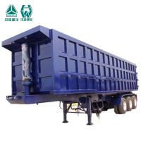 China High Performance Tipper Semi Trailer With Arc Welding Throughout Beams wholesale
