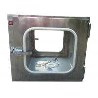 China Custom Stainless Steel 201 Static Cleanroom Pass Box For Biological Engineering wholesale