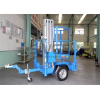 China Single Mast Truck Mounted Aerial Lift Hydraulic Aluminium Alloy Aerial Work Platform wholesale