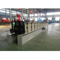 China Rain Gutter Roll Forming Machine Construction Material Roofing 450mm - 550mm Inner Diameter wholesale