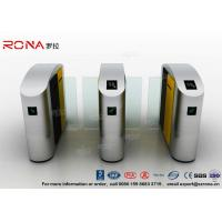 China Turnstile Barrier Gate Waist Height RFID Turnstile Security Systems Automatic Flap Barrier Turn Style Door wholesale