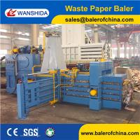 China High efficiency full automatic baler for used cardboard&waste paper with conveyor wholesale