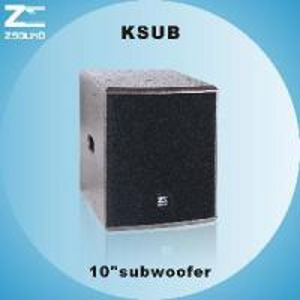 """China KSUB 10"""" Subwoofer wholesale"""