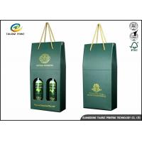 China Eco-Friendly Custom Printed Essential Olive Oil Paper Packaging Box wholesale