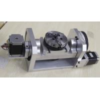 China K01-100mm Chuck CNC 4th Axis / 5th Axis CNC Dividing Head for CNC Router on sale