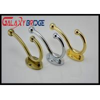 China Simple Modern  Wall Hanging  Gold Plated Coat Hooks Anti-crossion Solid Zinc Bathroom Towel Bar on sale