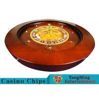 Quality Deluxe Solid Wooden Roulette Wheel Game Difficult To DeformationFor Casino for sale